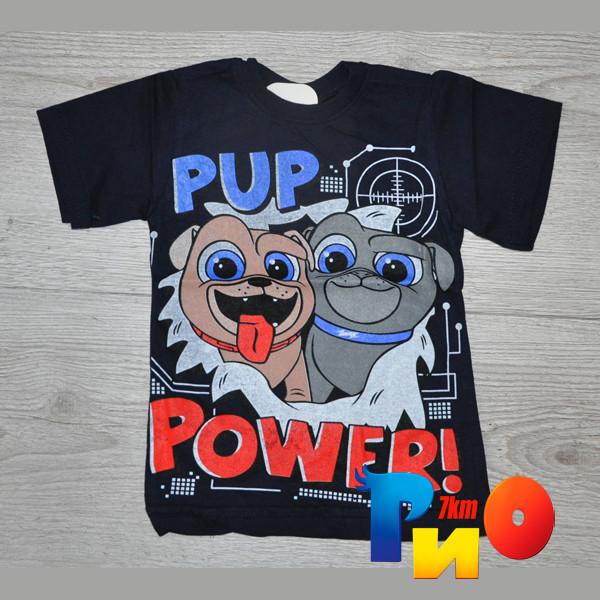 """Летняя футболка """"Pup Power"""", трикотаж, для мальчика(0-1;1-2;2-3;3-4 лет), 4 ед.в уп."""