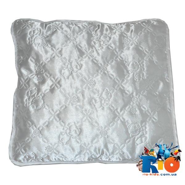 Детская подушка (шелк) 40х40 см (мин зказ 1 ед)