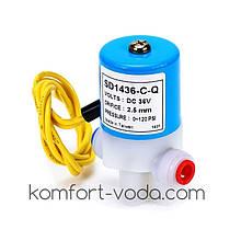 """Електромагнітний клапан KP-SD1436-C-Q, 1/4""""QC, 36V/DC"""
