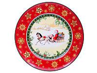 """Набор тарелок 6 шт. """"christmas collection"""" 21 см"""