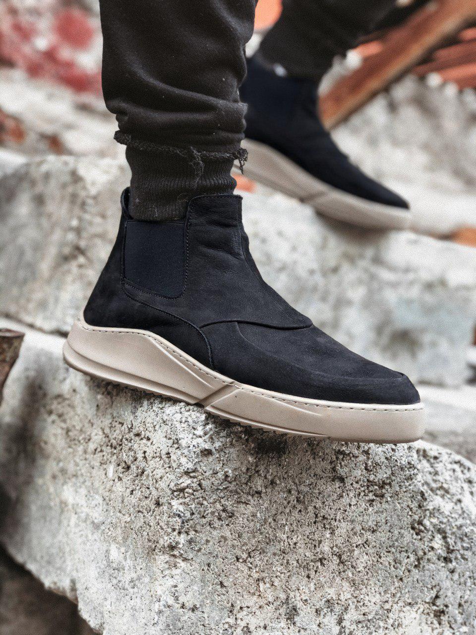 Ботинки - Мужские ботинки зимние на меху