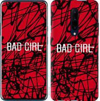 "Чехол на OnePlus 7 Pro bad girl ""4552u-1696-25032"""