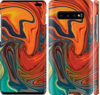 """Чехол на Samsung Galaxy S10 Plus Абстрактный фон """"4547c-1649-25032"""""""