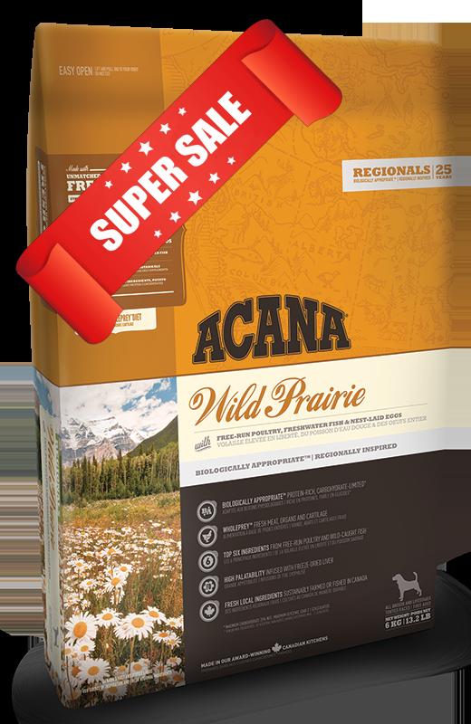 Сухой корм для собак Acana Wild Prairie Dog 340 г