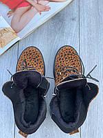 Ботинки женские Евро-Мех 6 пар в ящике желтого цвета 36-40, фото 3