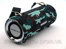Hopestar H39 портативная влагозащищенная портативная колонка 10W USB, Bluetooth FM, камуфляжная, фото 2