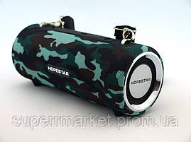 Hopestar H39 портативная влагозащищенная портативная колонка 10W USB, Bluetooth FM, камуфляжная, фото 3