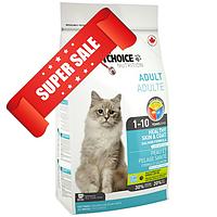 Сухой корм для котов 1st Choice Healthy Skin & Coat Adult 0,35 кг