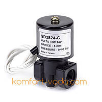 "Электромагнитный клапан KP-SD3824-C, 3/8""ВР, 24V/DC"
