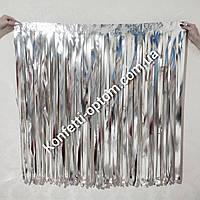 Занавес для фотозон из металлизированной пленки