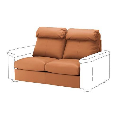 IKEA LIDHULT Раздел 2-местный диван-кровать, Гранн / Бомстад золотисто-коричневый, (992.906.04)