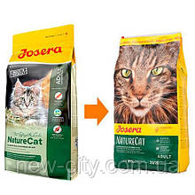 Josera NATURE CAT беззерновой корм для кошек 10 кг