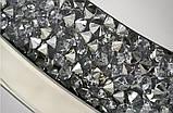 Дзеркало кругле в кристалах 16TM010 90 x 90 см, фото 2