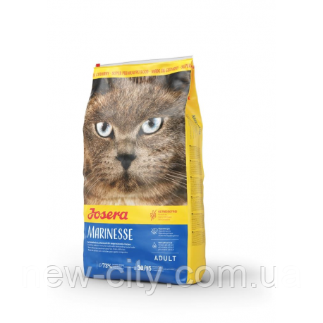 Josera (Йозера) MARINESSE  гипоаллергенный беззерновой корм для кошек 10kg