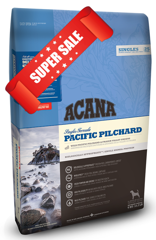 Сухой корм для собак Acana Pacific Pilchard 6 кг