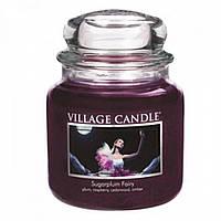 Ароматическая свеча Village Candle Сахарная слива (время горения до 105 ч)