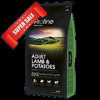 Сухой корм для собак Profine Adult Lamb & Potatoes 3 кг