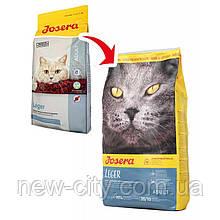 Josera LEGER корм для малоактивных и стерилизованных котов 10kg