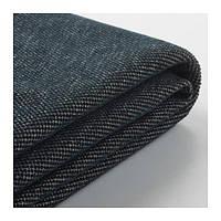 IKEA ВИМЛЕ Чехол на двухместный диван-кровать, Tallmyra черный / серый, (492.940.15)