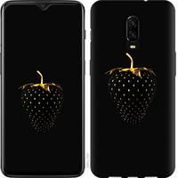 """Чехол на OnePlus 6T Черная клубника """"3585u-1587-25032"""""""