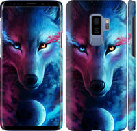 "Чехол на Samsung Galaxy S9 Plus Арт-волк ""3999c-1365-25032"""