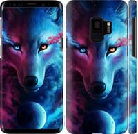 "Чехол на Samsung Galaxy S9 Арт-волк ""3999c-1355-25032"""
