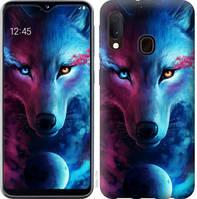 """Чехол на Samsung Galaxy A20e A202F Арт-волк """"3999c-1709-25032"""""""