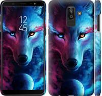 "Чехол на Samsung Galaxy J8 2018 Арт-волк ""3999c-1511-25032"""