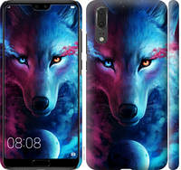 "Чехол на Huawei P20 Арт-волк ""3999c-1396-25032"""
