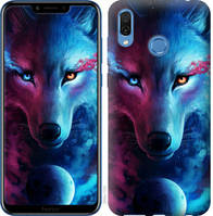 "Чехол на Huawei Honor Play Арт-волк ""3999u-1533-25032"""