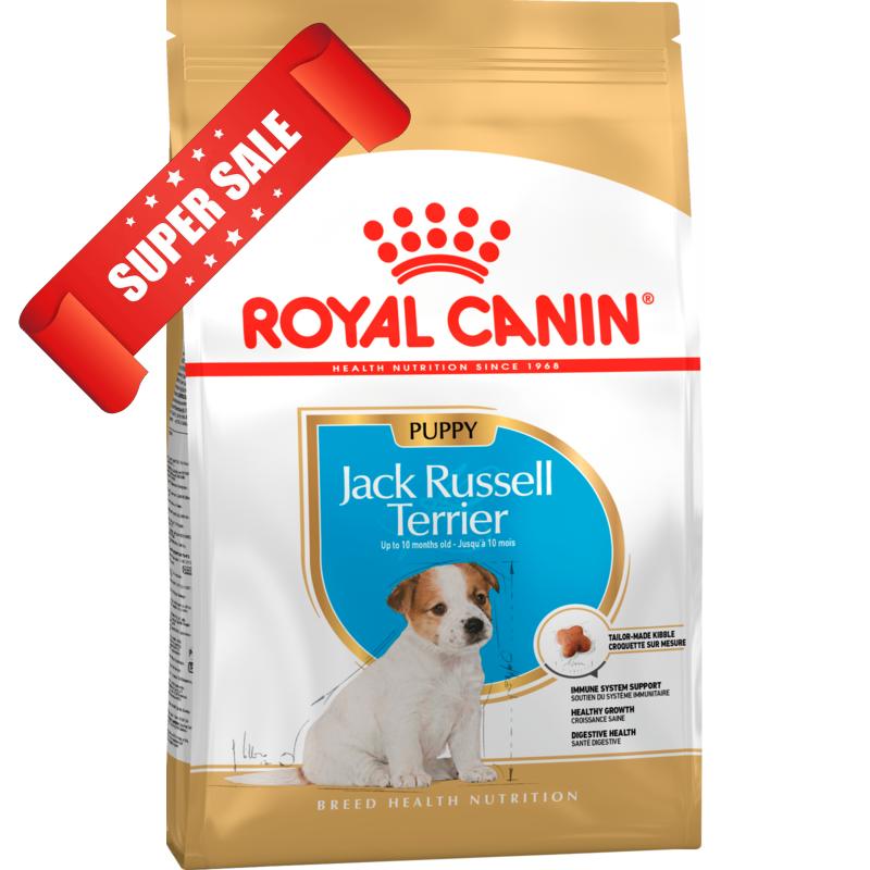 Сухой корм для собак Royal Canin Jack Russell Terrier Puppy 1,5 кг + 2 консервы