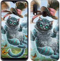 """Чехол на Samsung Galaxy A20e A202F Чеширский кот 2 """"3993c-1709-25032"""""""