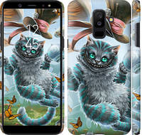 "Чехол на Samsung Galaxy A6 Plus 2018 Чеширский кот 2 ""3993c-1495-25032"""