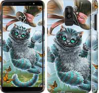 "Чехол на Samsung Galaxy J8 2018 Чеширский кот 2 ""3993c-1511-25032"""