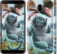"Чехол на Samsung Galaxy J6 Plus 2018 Чеширский кот 2 ""3993c-1586-25032"""