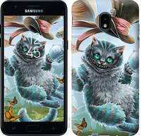 "Чехол на Samsung Galaxy J3 2018 Чеширский кот 2 ""3993u-1501-25032"""