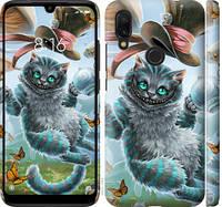 "Чехол на Xiaomi Redmi 7 Чеширский кот 2 ""3993c-1669-25032"""
