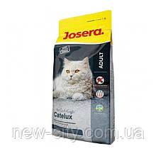 Josera CATELUX корм для взрослых котов со склонностью к образованию комков шерсти 10kg
