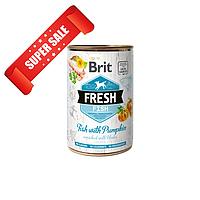 Влажный корм для собак Brit Fresh Fish with Pumpkin 400 г