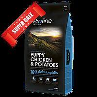 Сухой корм для щенков Profine Puppy Chicken & Potatoes 15 кг