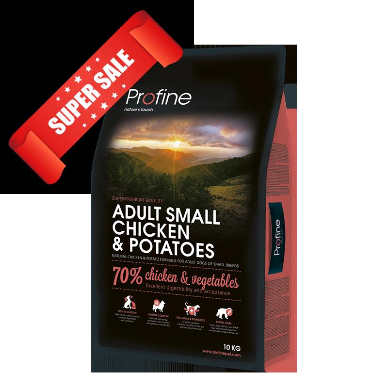 Сухой корм для собак Profine Adult Small Chicken & Potatoes 10 кг