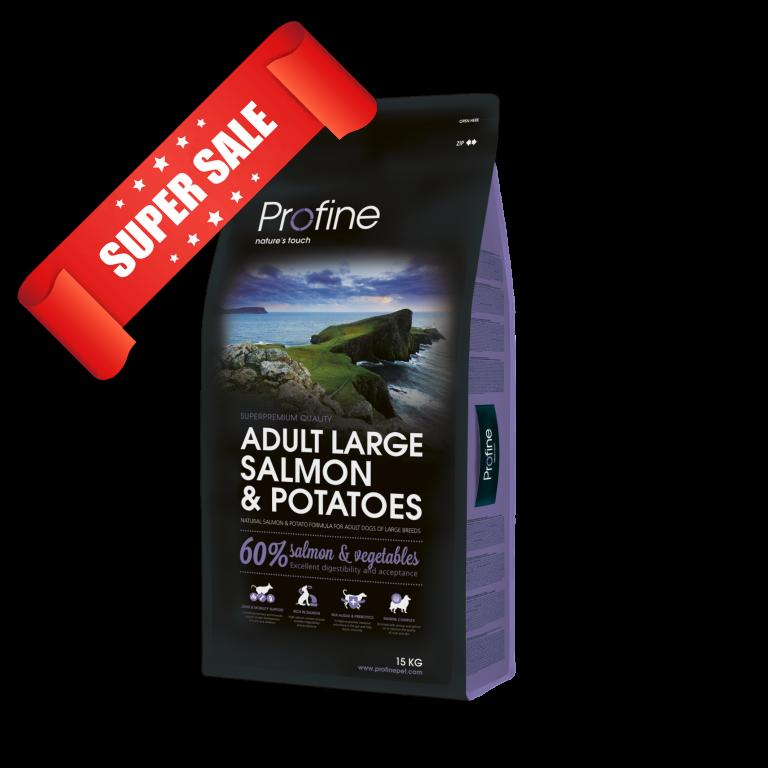 Сухой корм для собак Profine Adult Large Salmon & Potatoes 15 кг