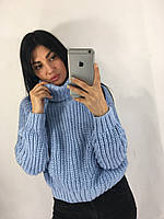 Свитерок турецкий с отворотом 30303, фото 1