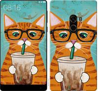 """Чехол на Xiaomi Mi MiX 2 Зеленоглазый кот в очках """"4054u-1067-25032"""""""