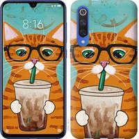 """Чехол на Xiaomi Mi 9 SE Зеленоглазый кот в очках """"4054u-1674-25032"""""""