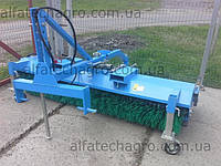 Щетка с бункером (гидравлическая) для тракторов, фото 1