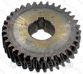 Шестерня электропилы D812 (зенит) (d38*12 h10/ 35 зубов влево шпонка)