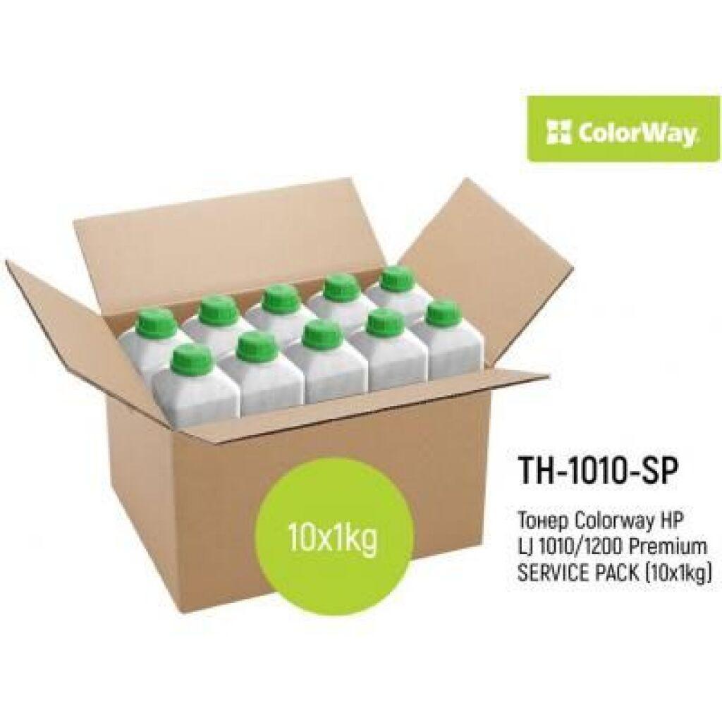 Тонер HP LJ 1010/1200 Premium SERVICE PACK (10x1kg) ColorWay (TH-1010-SP)
