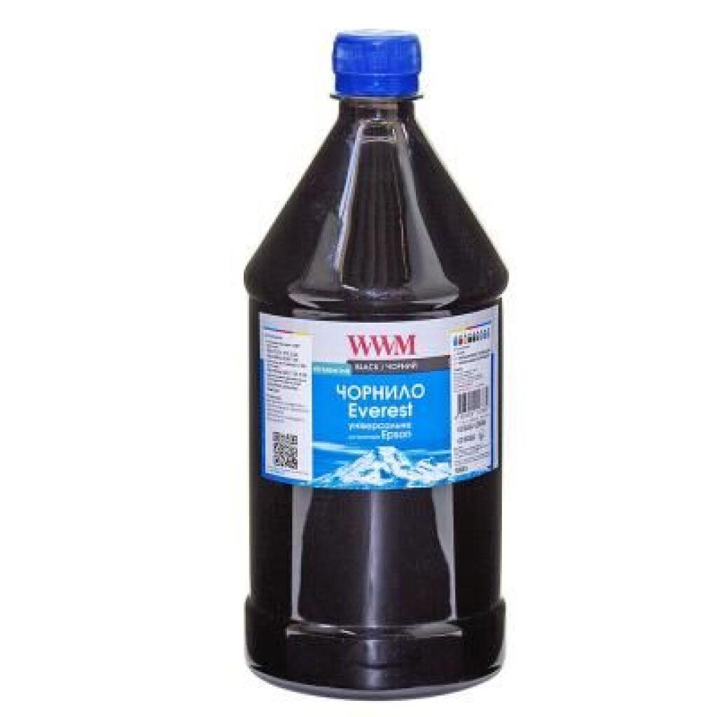 Чернила WWM EPSON UNIVERSAL EVEREST Black 1000г pigmented (EP02/BP-3)