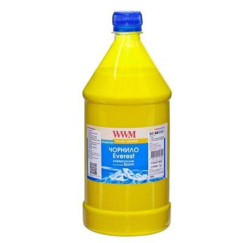 Чернила WWM EPSON UNIVERSAL EVEREST Yellow 1000г pigmented (EP02/YP-3)